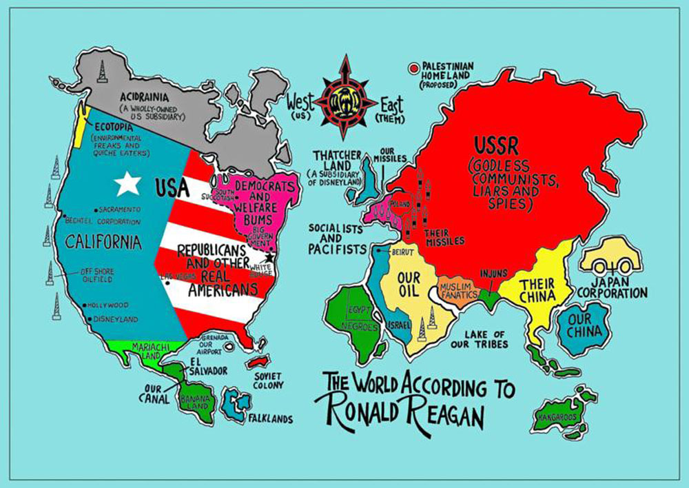 Heimsmynd Ronalds Reagan - The World According to Ronald Reagan